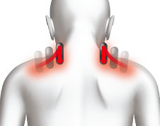 Массаж плечевых мышц