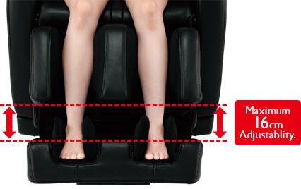 Увеличенный размер подставки для ног