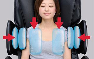 Массаж верхней части плеча